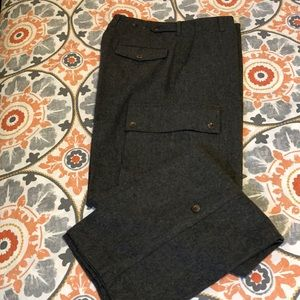 Polo Ralph Lauren Wool/Cashmere Cargo Trousers 32
